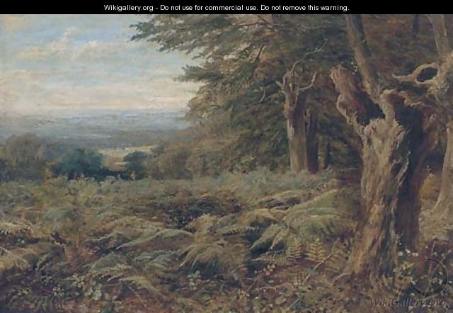 At the edge of the forest - John MacWhirter