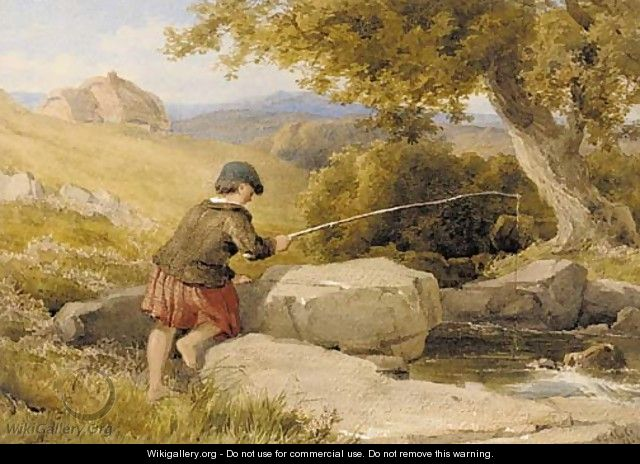 The young fisherboy - John Henry Mole