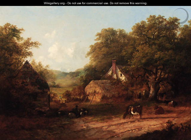 A view of Albury, Surrey - John Dearman