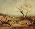 Capt. White hunting with the Quorn, near Brooksby Hall - John Jnr. Ferneley