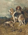 Hounds with the day's bag - John Emms