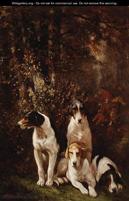 Hounds at Rest - John Emms