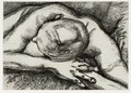 Reclining Figure (H. 50) - Lucian Freud