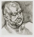 Head of a Man (H. 46) - Lucian Freud