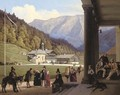 A View of Wildbad Kreuth in the Bavarian Alps - Ludwig August Most