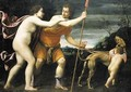 Venus and Adonis - Lucio Massari