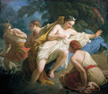 Diana and Actaeon - Louis Lagrenee
