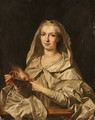 Portrait of a woman - Louis Michel van Loo