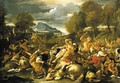The Battle of the Lapiths - Luca Giordano