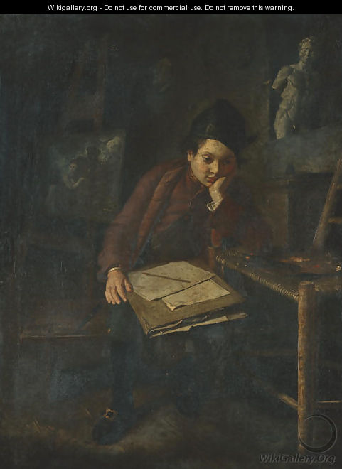 The young draftsman - Lombard School