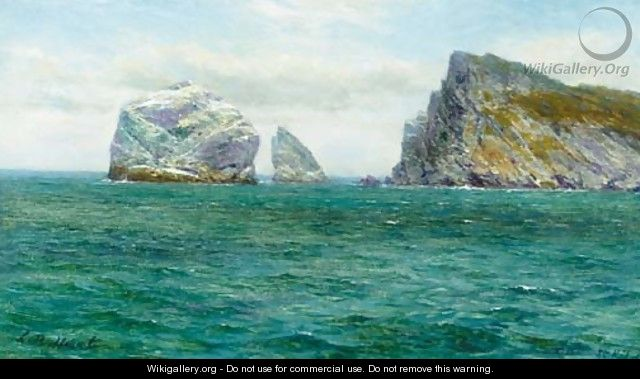 Stac Lee and Boreray, St. Kilda - Louis Bosworth Hurt