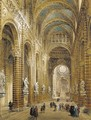 Interior of the cathedral at Sienna - Louis Haghe