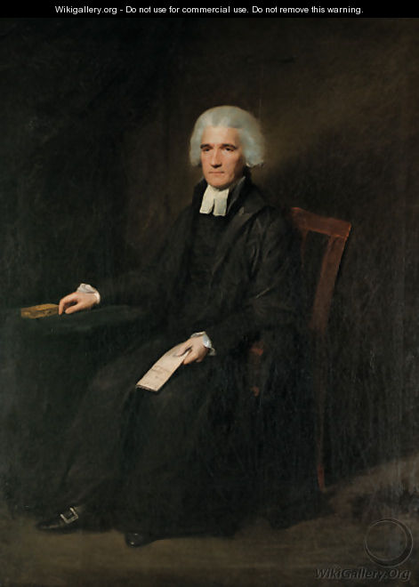 Portrait of John Grant of Kilgraston (d.1793), full-length, seated, in black gown with white bands, a letter in his left hand - Lemuel-Francis Abbott