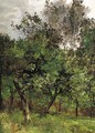 Wooded landscape - Leon Germain Pelouse