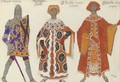 Costume designs for Le Martyre de Saint-Sebastien - Leon (Samoilovitch) Bakst