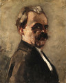 Portrait of a man - Lesser Ury