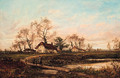 A Moorland Homestead - Leopold Rivers