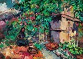 Summer - Apple Harvest - Konstantin Alexeievitch Korovin
