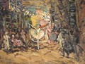 Stage Design for Don Quixote - Konstantin Alexeievitch Korovin