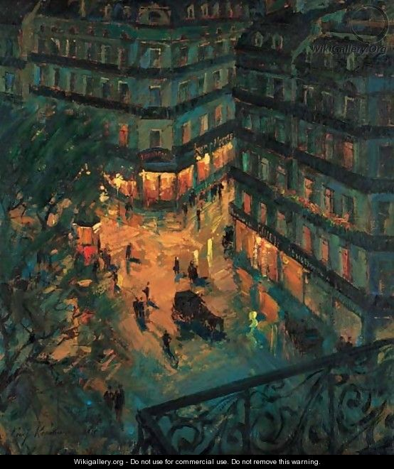 Paris by Night 2 - Konstantin Alexeievitch Korovin