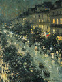 Paris by Night - Konstantin Alexeievitch Korovin