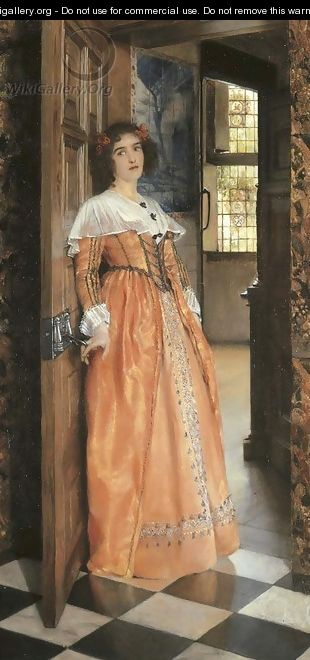 At the Doorway - Laura Theresa Epps Alma-Tadema
