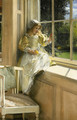 A Looking Out o'Window (Sunshine) - Laura Theresa Epps Alma-Tadema