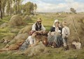 Harvesters picnicking - Joseph Julien