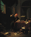 An alchemist in his study - Justus Juncker