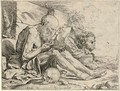 St. Jerome in the Desert (B. 3; Br. 13) - Jusepe de Ribera