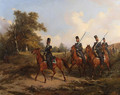 The Life-Guards Atamanskii Cossack Regiment on Manoeuvres - Karl Friedrich Schulz