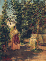 And In The Garden - Jose Benlliure y Gil
