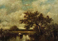 Trees in a Marsh - Jules Dupre