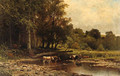 Cows along the River - James Brade Sword