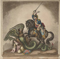 St George and the Dragon 3 - James Gillray
