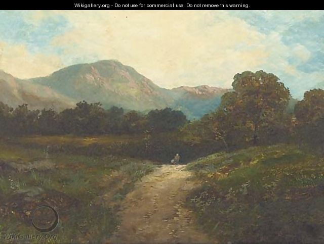 On the Barmouth road; and Old lock, near Chiddingfold - James E. Adams