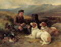 The midday meal on the moors - James Hardy Jnr