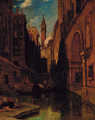 The back of the Malipiero Palazzo, Venice - James Holland