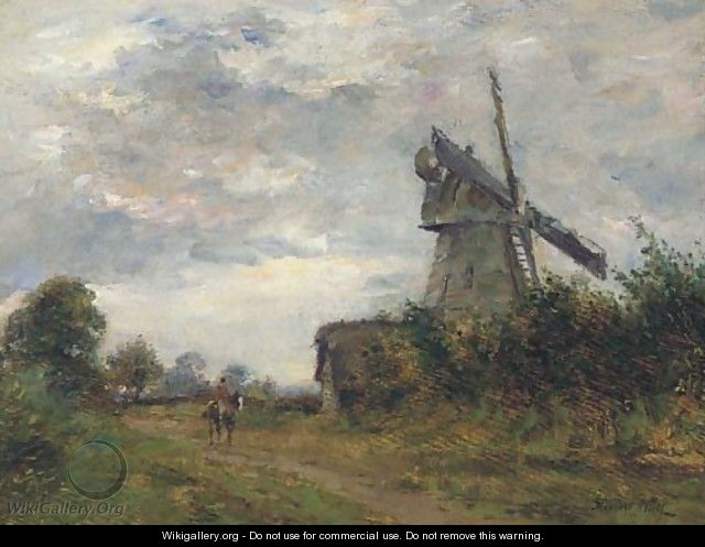 An Essex windmill - James Herbert Snell