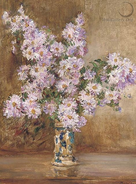 Michaelmas Daisies - James Herbert Snell