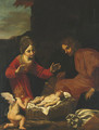 The Holy Family - Jacopo Vignali