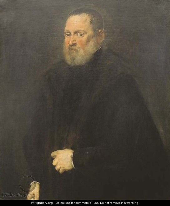Portrait of a man 4 - Jacopo Tintoretto (Robusti)