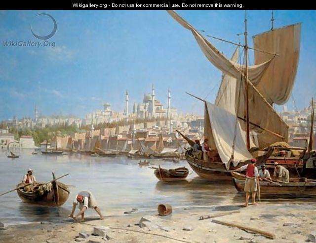 Constantinople - Jacques Carabain