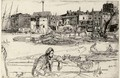 Black Lion Wharf 2 - James Abbott McNeill Whistler