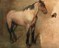 Study of a bay Horse - Jacques Laurent Agasse