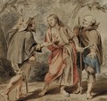 The Road to Emmaus - Jacob de Wit