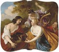 Meleager and Atalanta - Jacob van Loo