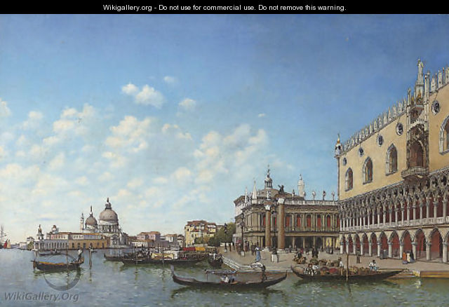 Before the Molo, Venice - Italian School