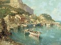 A fishing village on the Amalfi coast - Italian School