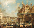 The Basilica of San Marco, Venice - Italian School